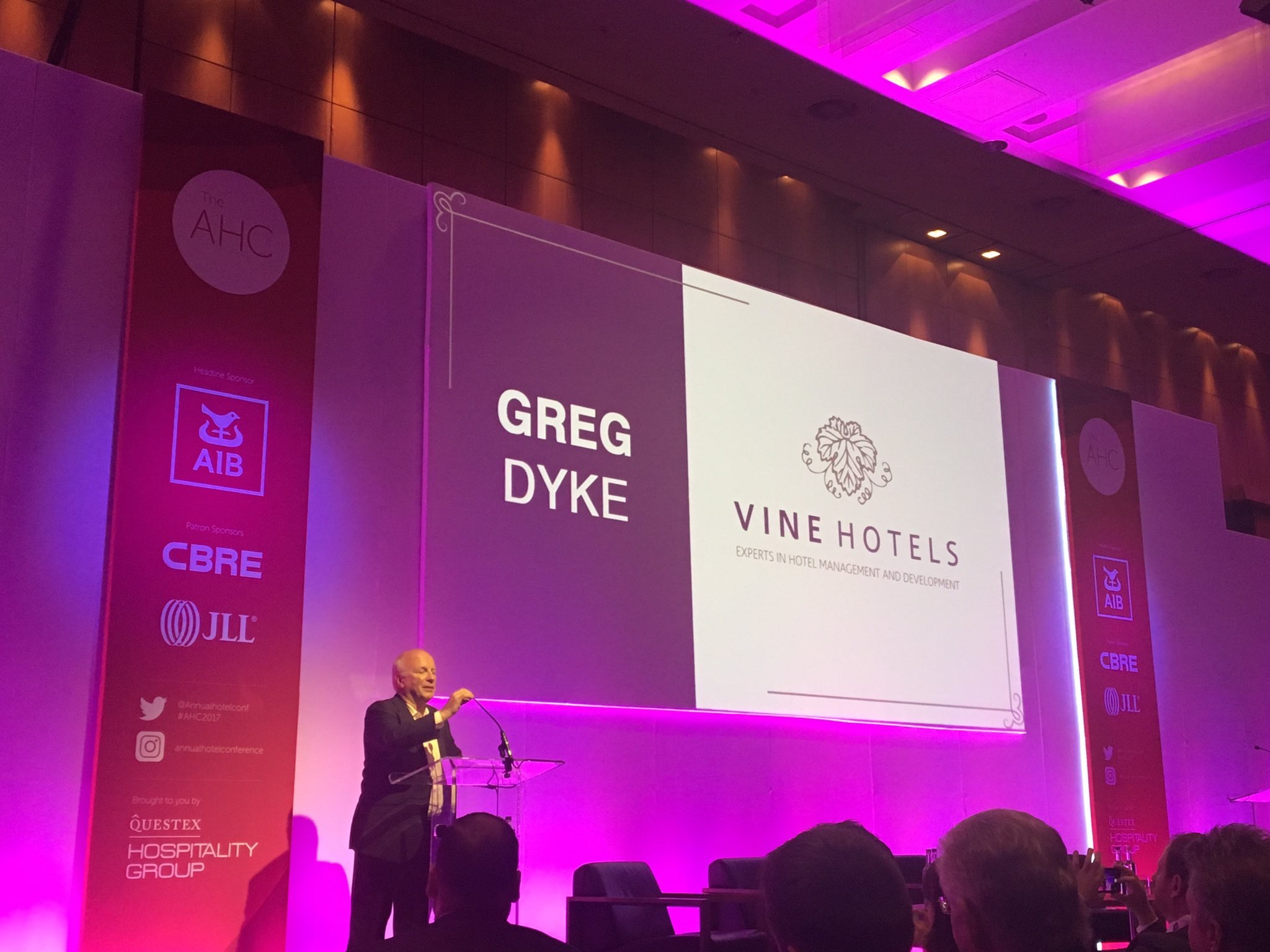 Greg Dyke at Annual Hotel Conference