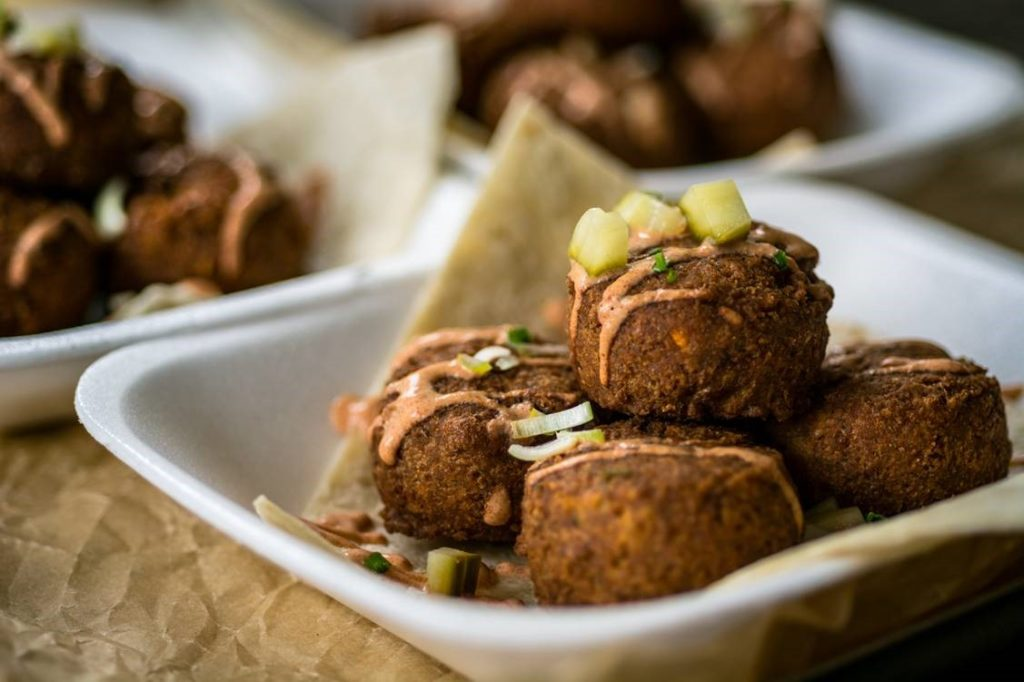 vegan conference food