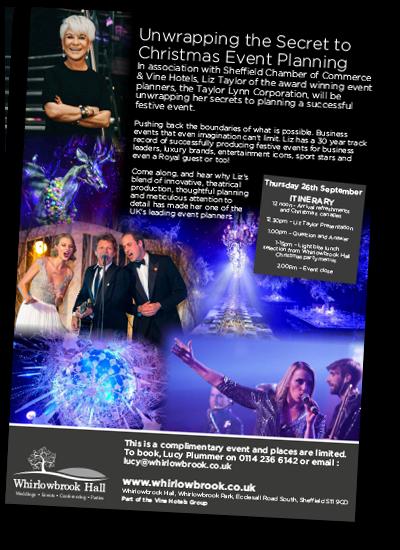 Liz Taylor unwraping Christmas Event Party Secrets