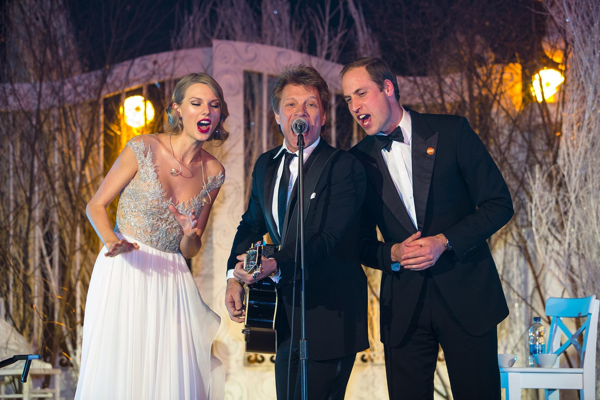 Liz Taylor Of TLC LTD - Prince William,Taylor Swift, Jon Bon