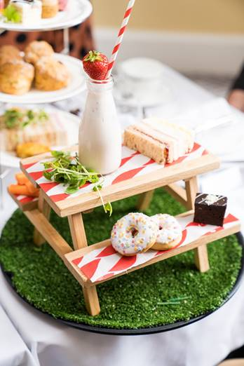 Laura Ashley The Tea Room Official Opening childrens afternoon tea 1