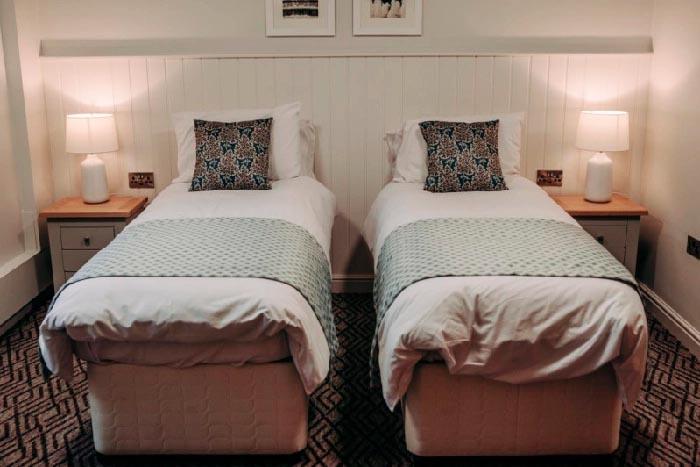 Ashgate Hospice care's family bedroom