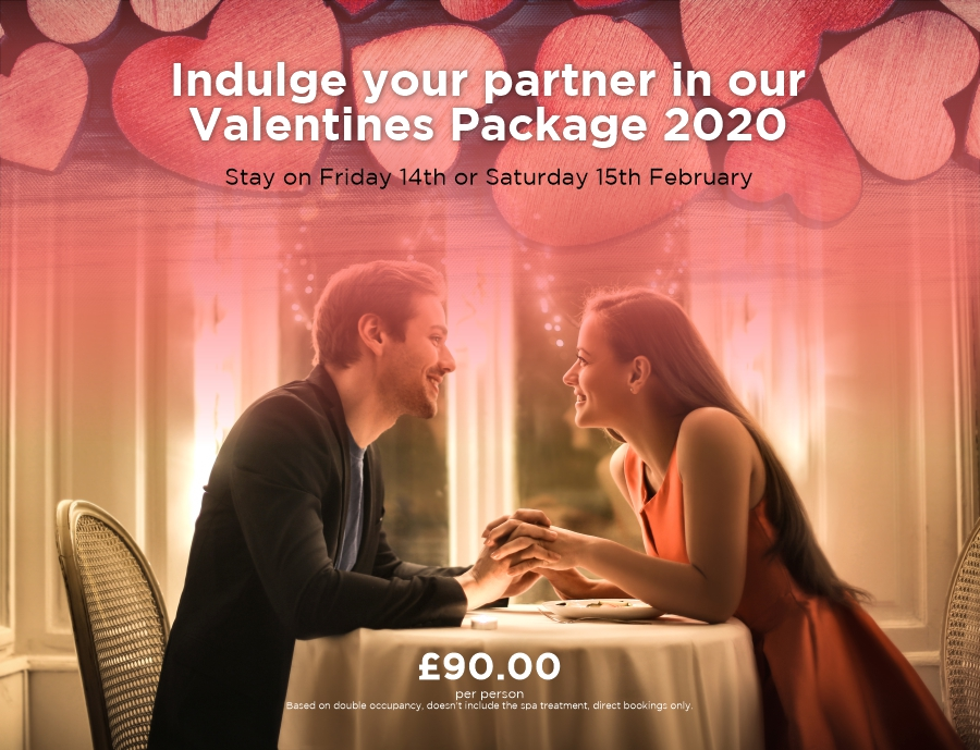 Valentine Night at Mercure Sheffield Kenwood Hall Hotel & Spa