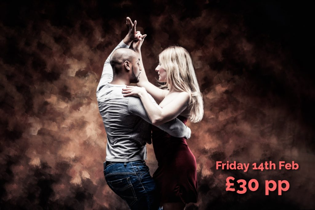 Valentine Salsa Dancing Night at Whirlowbrook Hall Hotel