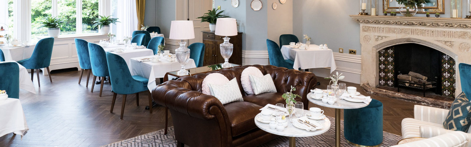 Laura Ashley The Tea Room at Kenwood Hall Vine Hotel Management