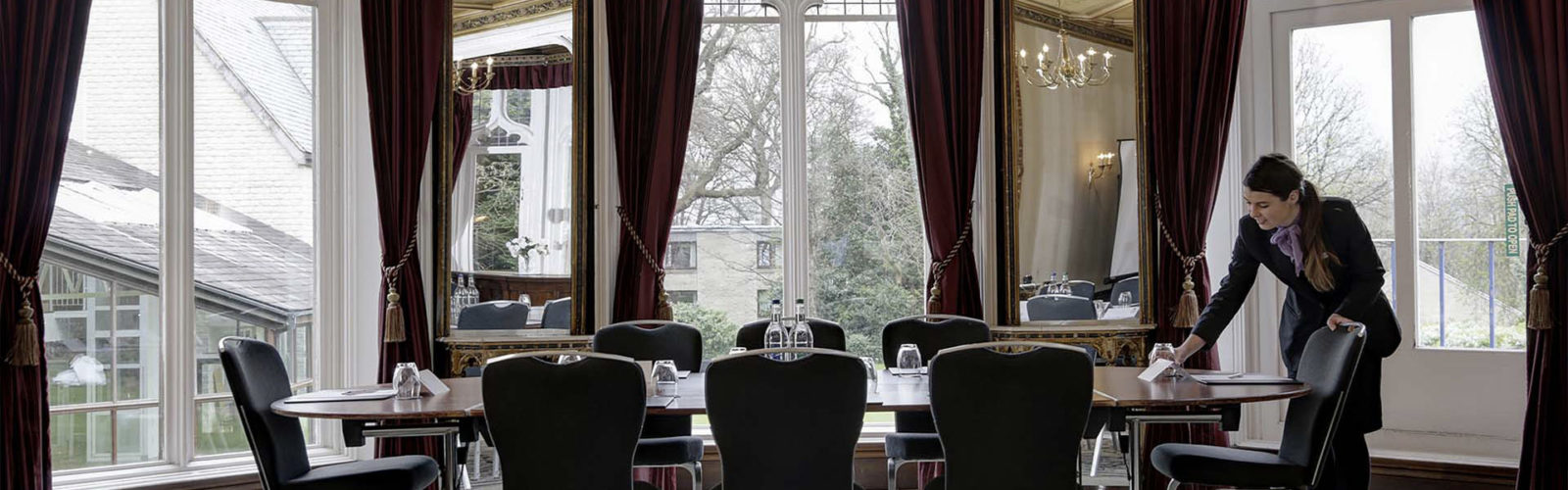 Meetings at Mercure Sheffield Kenwood Hall Hotel & Spa Vine Hotel Management