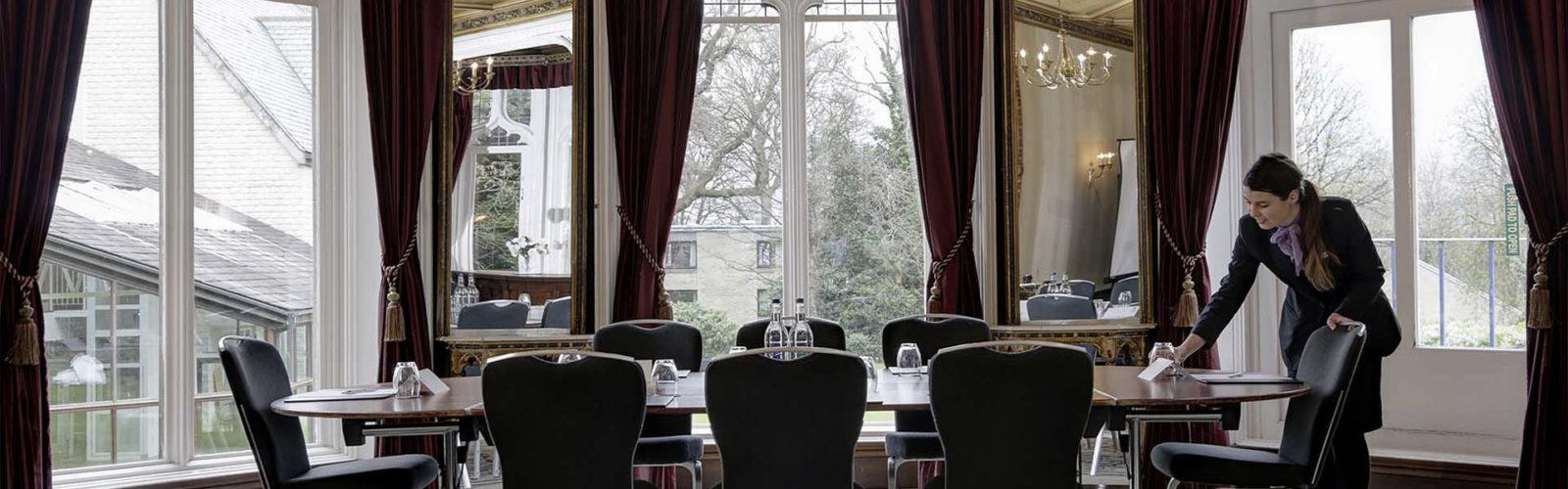 Meetings at Mercure Sheffield Kenwood Hall Hotel & Spa Vine Hotel Management