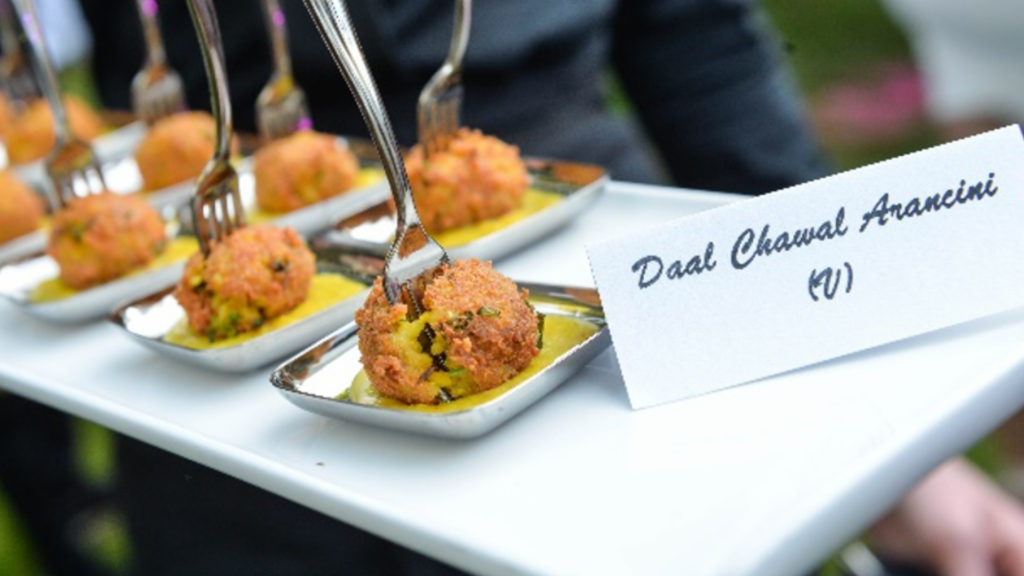 Multicultural wedding Food in Sheffield