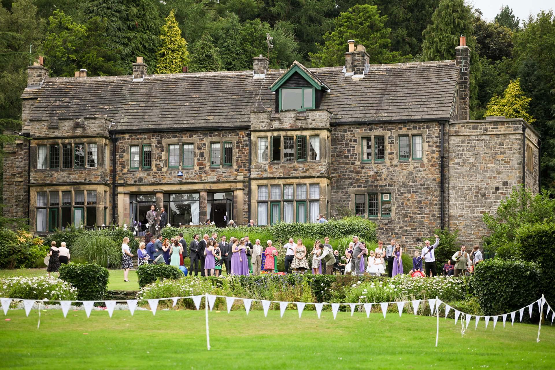 Whirlow Brook Hall wedding Venue Sheffield