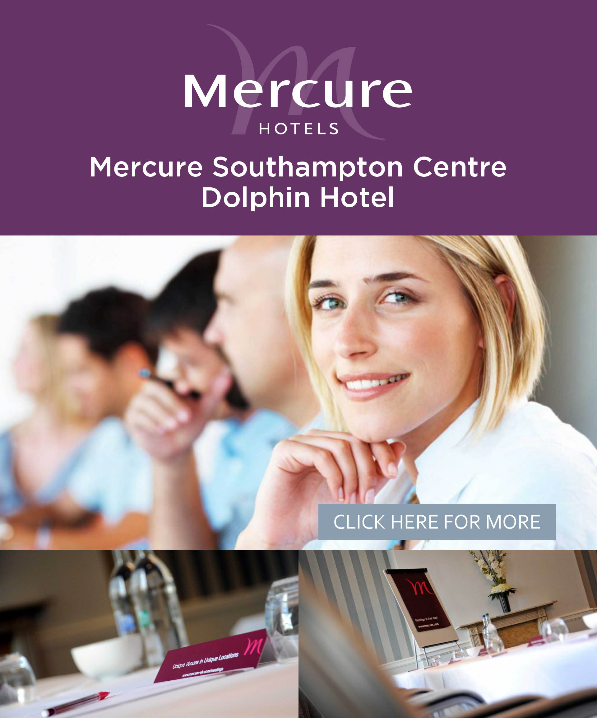 Mercure Southampton Centre Dolphin Hotel meeting offer