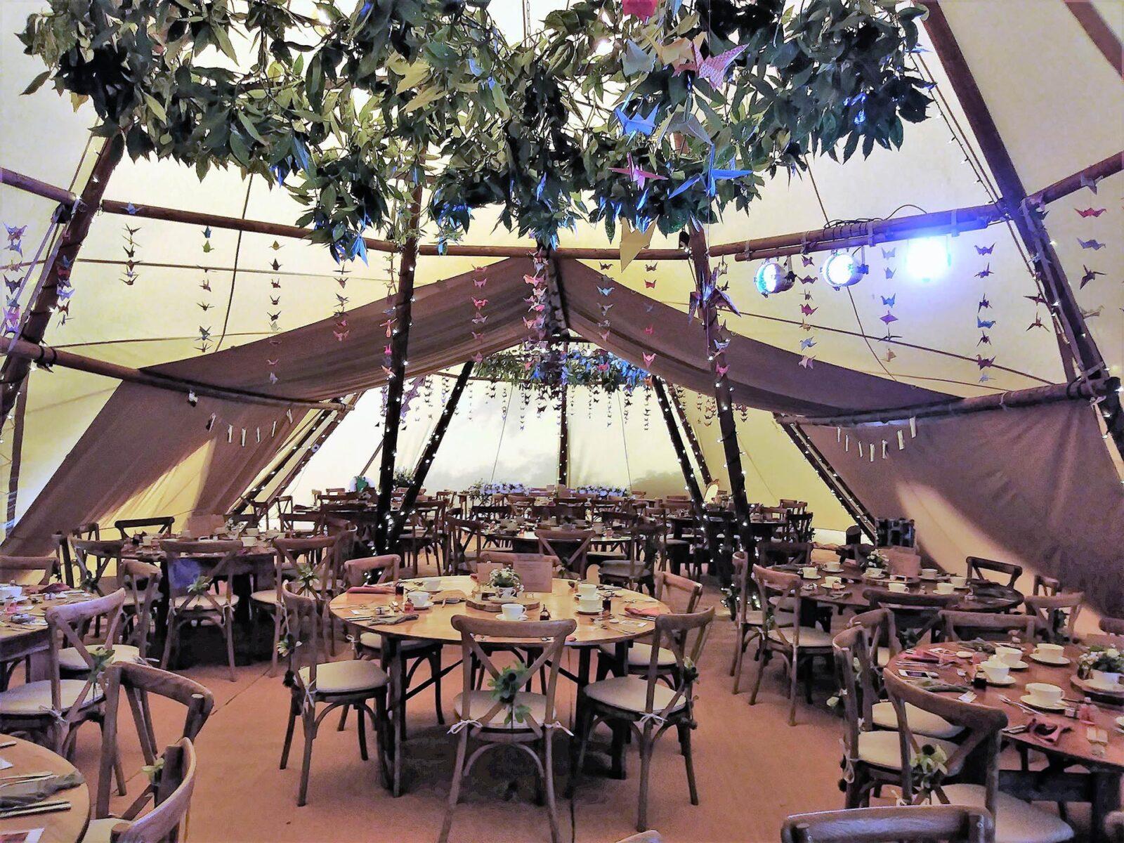 luxurious giant tipis at the charlecote pheasant hotel stratford upon avon_11